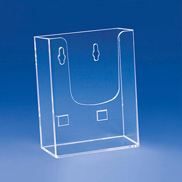 Ekonomik zidni stalak za flajere sa jednim dzepom, format DL