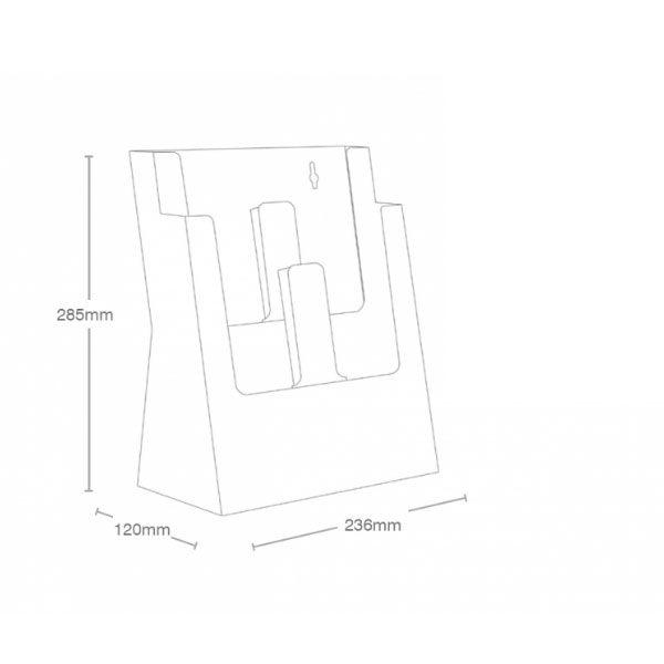 Crtez Taymar stalka-za-flajere-na-dva-nivoa-2C230