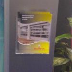 Taymar zidni stalak za flajere – W230, slika iz prostora