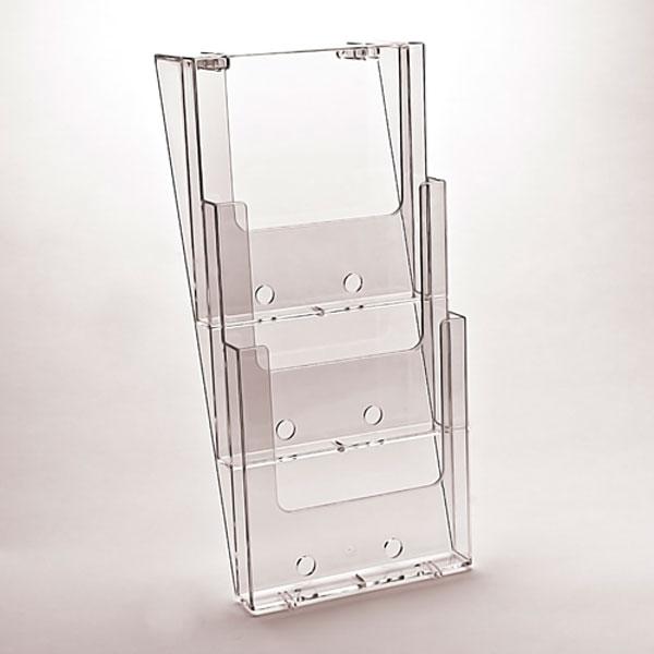 Taymar zidni drzac za brosure na tri nivoa, format A4