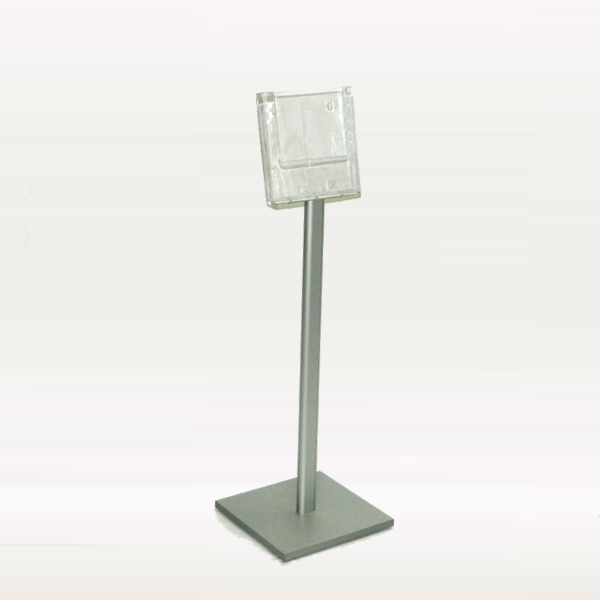 Mini podni stalak za brosure sa jednim dzepom, slika bez kataloga